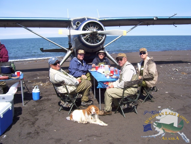 fly out fishing lodge in Alaska