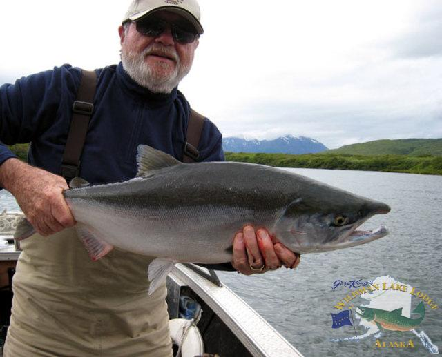 sport fishing in Alaska