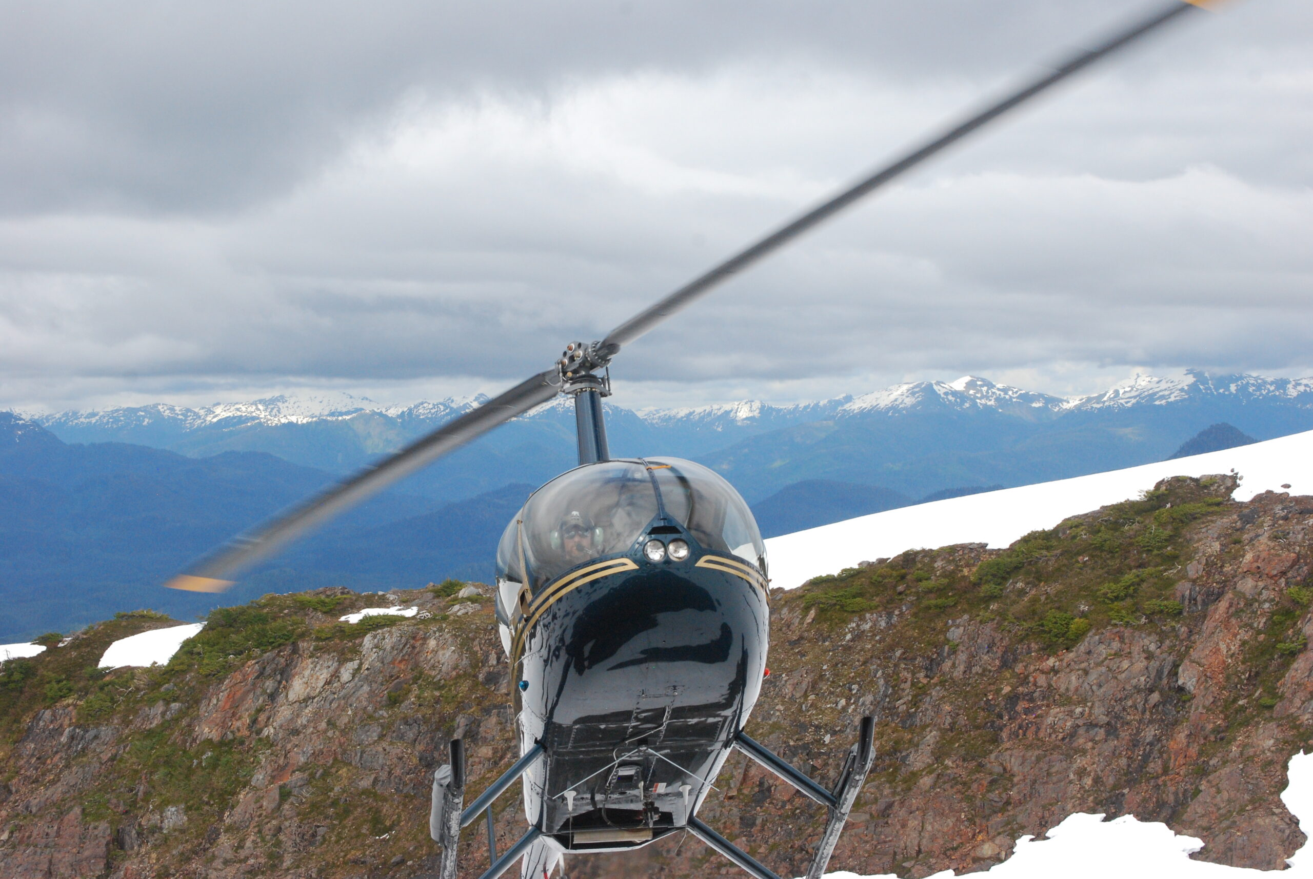 Alaska fly out helicopter fishing