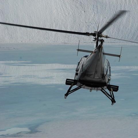 Alaska heli fishing